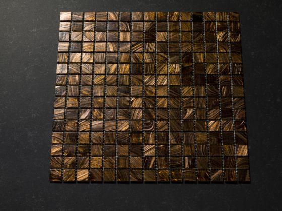 Mosaik Braun Zusätzliche Gold Einfach Mosaik Fliesen - Mosaik fliesen braun gold