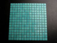 Glaskörper Glasfliesen Türkis 2 x 2 cm - Einfach Mosaik Fliesen